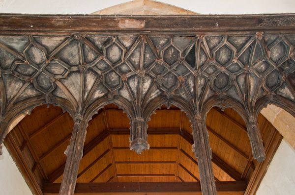 Stoke Dry, St Andrew's Church photo, Rood screen