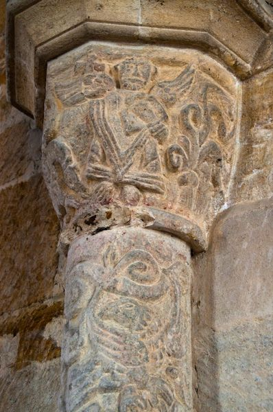 Stoke Dry, St Andrew's Church photo, Chancel arch capital