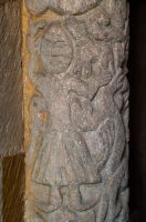 Stoke Dry, St Andrew's Church, Norman carving
