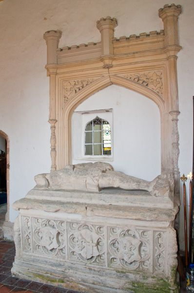 Stoke Dry, St Andrew's Church photo, Digby tomb