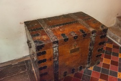 Iron-bound parish chest