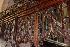 16th century oak screen