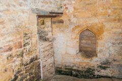 Stoke-sub-Hamdon Priory, Medieval piscina in the chapel