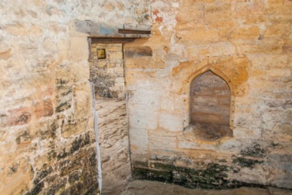 Stoke-sub-Hamdon Priory photo, Medieval piscina in the chapel