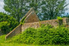 Stoke-sub-Hamdon Priory, The ruined barn