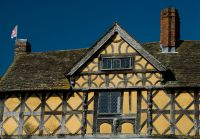 Timber framed gatehouse