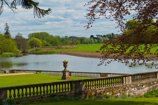 Stoneleigh Abbey photo, Terrace above the River avon