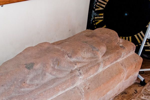 Stoneleigh, St Mary's Church photo, Medieval effigy of a woman