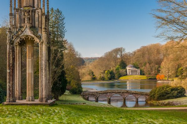 Stourhead photo, Stourhead iin February