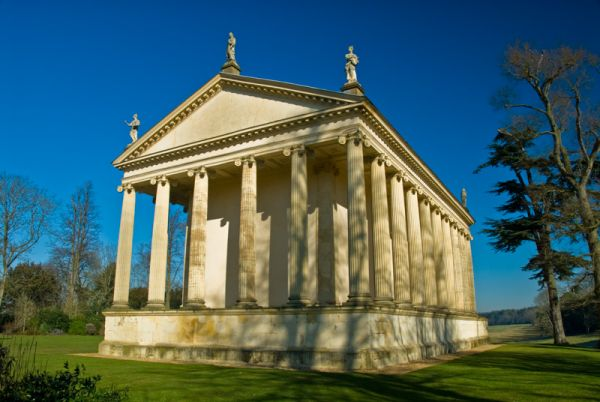The Palladian Bridge Temple Of Concord And Victory