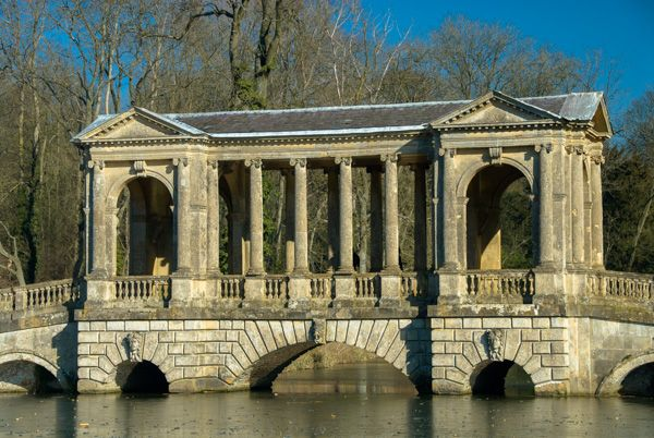 Stowe Landscape Gardens photo, The Palladian Bridge