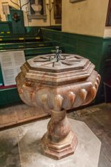 The Victorian marble font