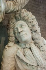 Strensham, St John's Church, Sir Francis Russell effigy, 1705