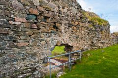 Strome Castle, The south wall interior