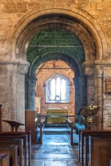 Studland, St Nicholas Church, The Norman chancel arch