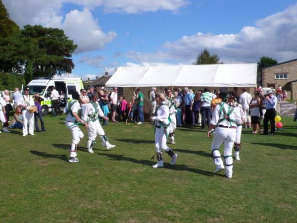 Sturminster Newton photo, Morris dancers at the Cheese Festival (c) Nigel Mykura