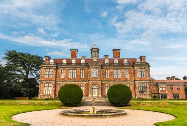 Sudbury Hall photo, The rear facade of the Hall