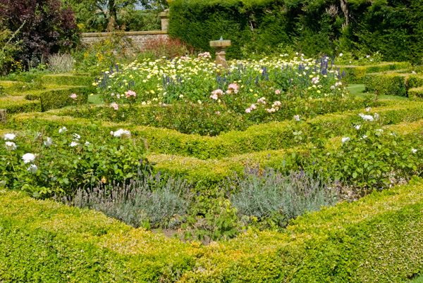 Sulgrave Manor photo, Knot Garden