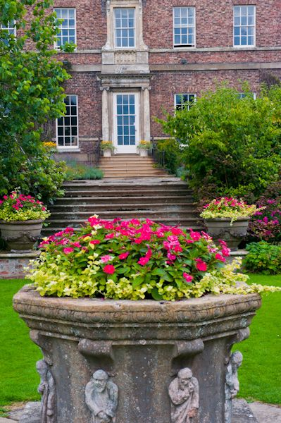 Sutton Park photo, The garden front of the house