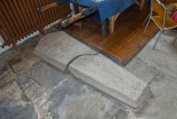 Medieval grave, Sutton Valence church