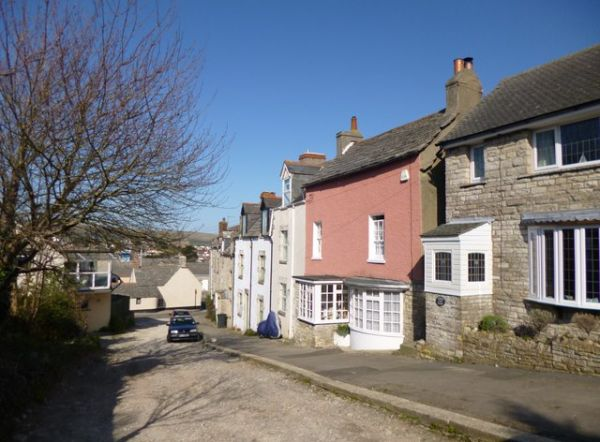 Swanage photo, Cottages on Cowlease (c) Mike Faherty