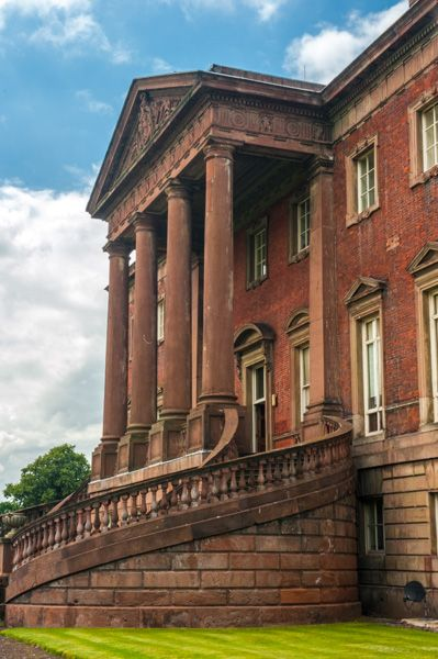 Tabley House photo, Another view of the Palladian south facade