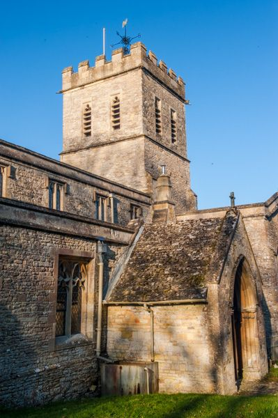 Tackley, St Nicholas Church photo, The 14th century central tower