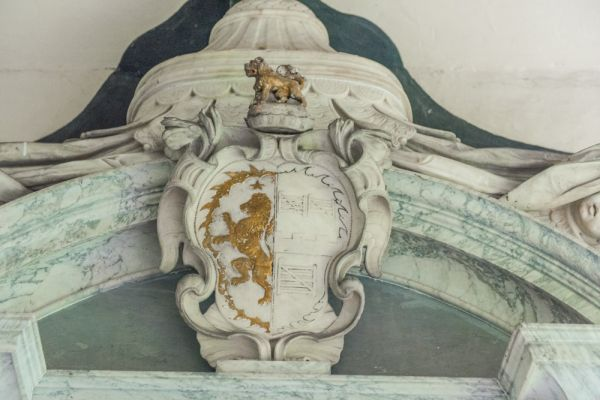 Talbot Chapel photo, Talbot family coat of arms