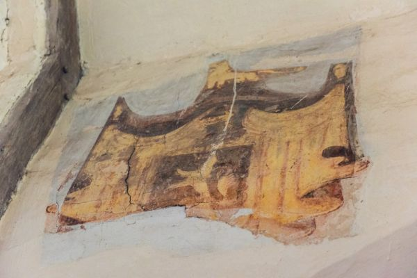 Talbot Chapel photo, A fragment of wall painting
