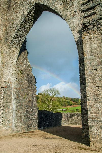Talley Abbey photo, Doorway arch in the tower