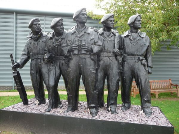 Tank Museum photo, The Tank Crew Memorial (c) Jeremy Bolwell