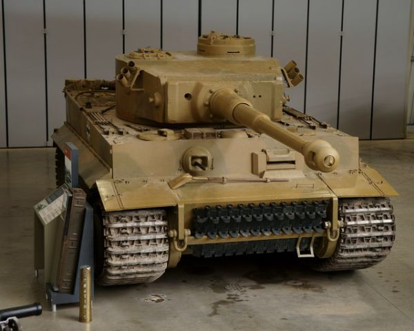 Tank Museum photo, The Tiger 131 (c) Peter Trimming
