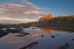 Tantallon Castle, The castle from the shore