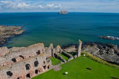 Tantallon Castle, The view from the tower