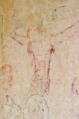 Wall painting of the Crucifixion