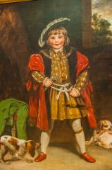 Master Crewe as Henry VIII, by Joshua Reynolds, 1775