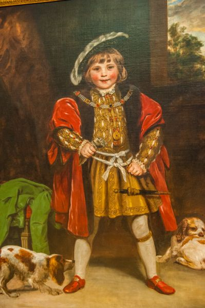 Tate Britain photo, Master Crewe as Henry VIII, by Joshua Reynolds, 1775