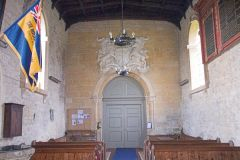 Temple Guiting, St Mary's, The church interior