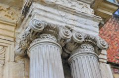 Neoclassical column detail