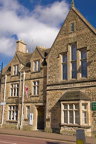 Tetbury photo, The old Police station
