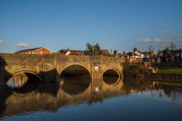 Tewkesbury photo, King John's Bridge