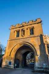 The medieval Abbey gate