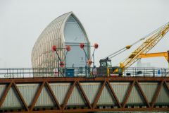 Thames Barrier, One of the smaller barrier housings