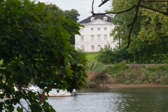 Marble Hill House from across the Thames