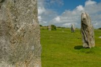 The Hurlers Stone Circles, South stone circle