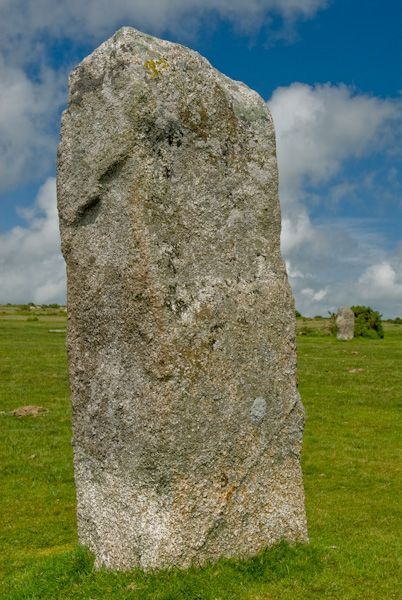 The Hurlers Stone Circles photo, Standing stone