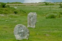 The Hurlers Stone Circles, Standing stones