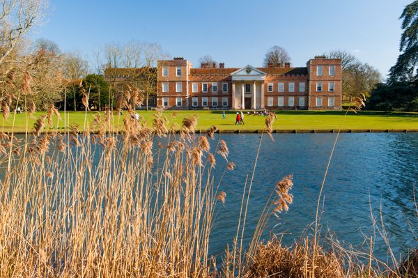 The Vyne photo, The Vyne house from the lake