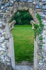 Thetford Priory, A ruined medieval doorway