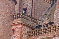 Thirlestane Castle , Parapet walks